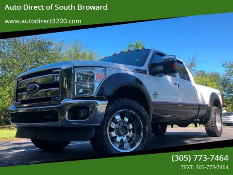 2011 Ford F-350 Super Duty for sale at Auto Direct of South Broward in Miramar FL