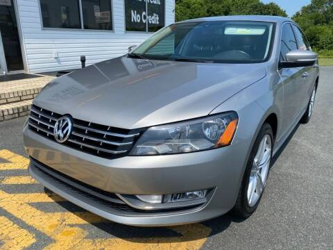 2013 Volkswagen Passat for sale at Auto America - Monroe in Monroe NC