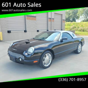 2002 Ford Thunderbird for sale at 601 Auto Sales in Mocksville NC