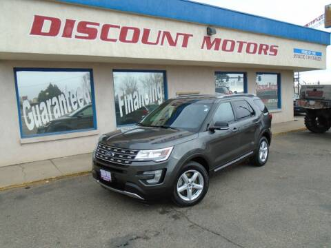 2016 Ford Explorer for sale at Discount Motors in Pueblo CO