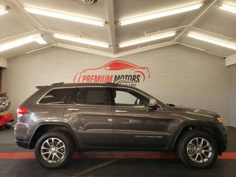 2016 Jeep Grand Cherokee for sale at Premium Motors in Villa Park IL