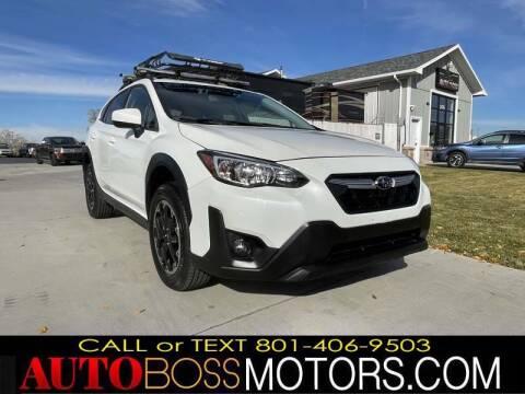 2021 Subaru Crosstrek for sale at Auto Boss in Woods Cross UT