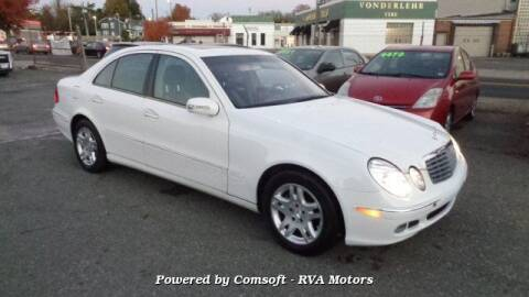 2005 Mercedes-Benz E-Class for sale at RVA MOTORS in Richmond VA