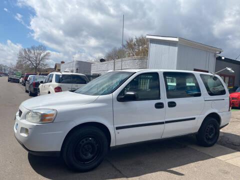 2008 Chevrolet Uplander for sale at Sanaa Auto Sales LLC in Denver CO