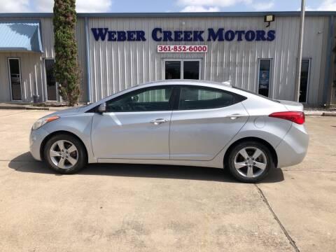 2012 Hyundai Elantra for sale at Weber Creek Motors in Corpus Christi TX