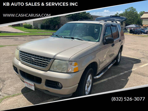 2004 Ford Explorer for sale at KB AUTO SALES & SERVICES INC in Houston TX