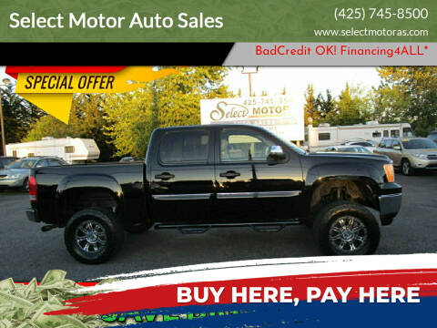 2010 GMC Sierra 1500 for sale at Select Motor Auto Sales in Lynnwood WA