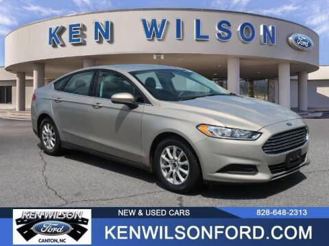 2015 Ford Fusion for sale at Ken Wilson Ford in Canton NC