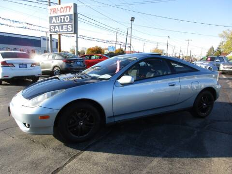 2005 Toyota Celica for sale at TRI CITY AUTO SALES LLC in Menasha WI