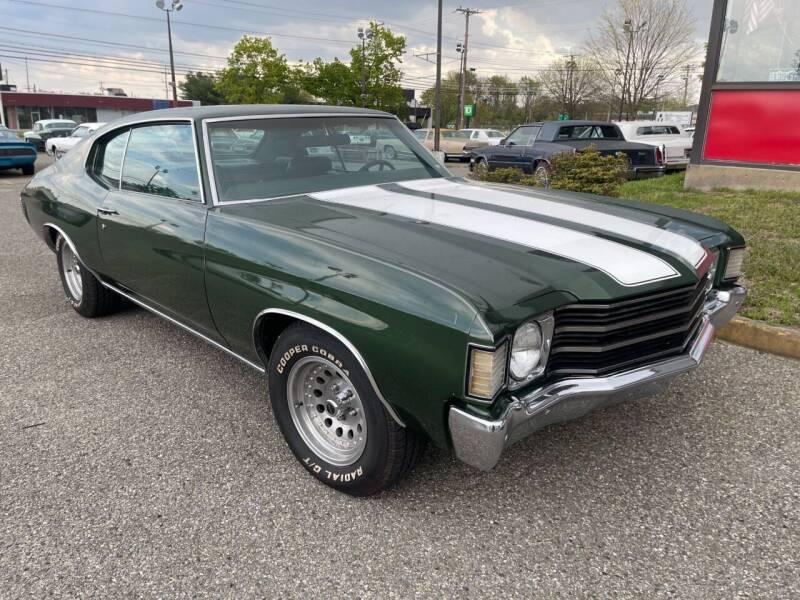 1971 Chevrolet Chevelle for sale at Black Tie Classics in Stratford NJ