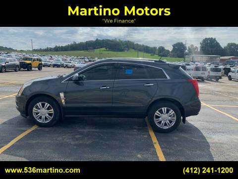 2011 Cadillac SRX for sale at Martino Motors in Pittsburgh PA