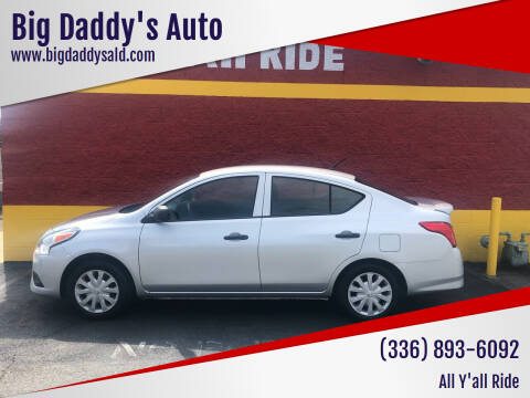 2015 Nissan Versa for sale at Big Daddy's Auto in Winston-Salem NC