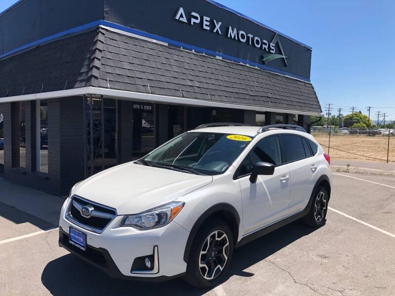 2016 Subaru Crosstrek for sale at Apex Motors in Murray UT