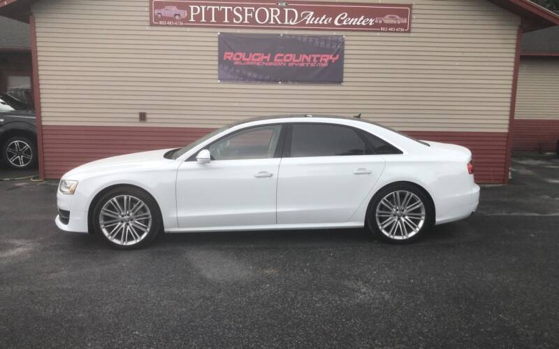 2017 Audi A8 L for sale at Pittsford Automotive Center in Pittsford VT