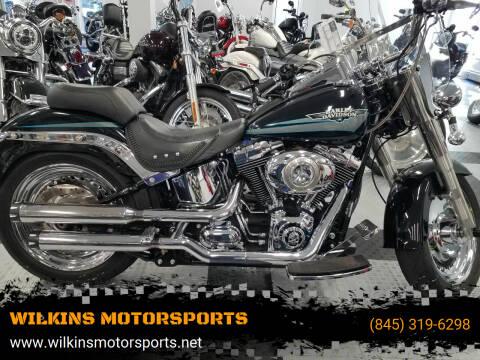 2010 Harley-Davidson Fat Boy for sale at WILKINS MOTORSPORTS in Brewster NY