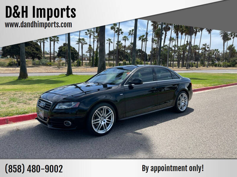 2011 Audi A4 for sale at D&H Imports in San Diego CA