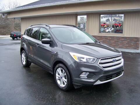2018 Ford Escape for sale at RPM Auto Sales in Mogadore OH