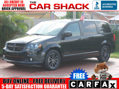 2018 Dodge Grand Caravan for sale at The Car Shack in Hialeah FL