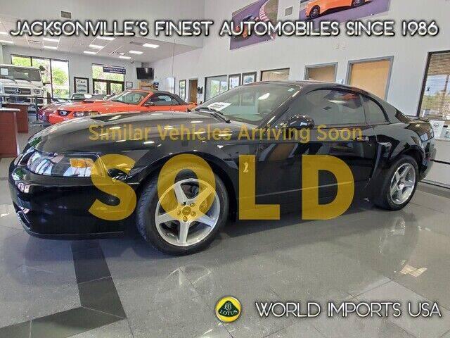 2003 Ford Mustang SVT Cobra for sale in Jacksonville, FL