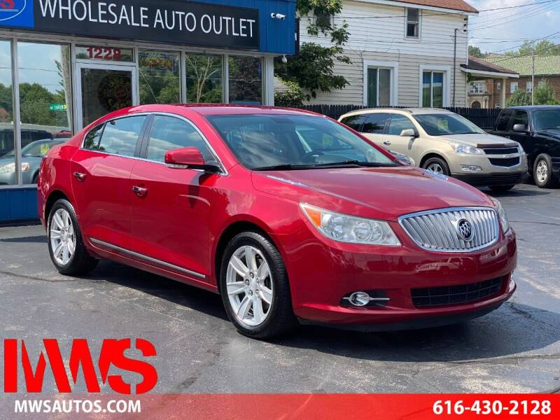 2012 Buick LaCrosse for sale at MWS Wholesale  Auto Outlet in Grand Rapids MI
