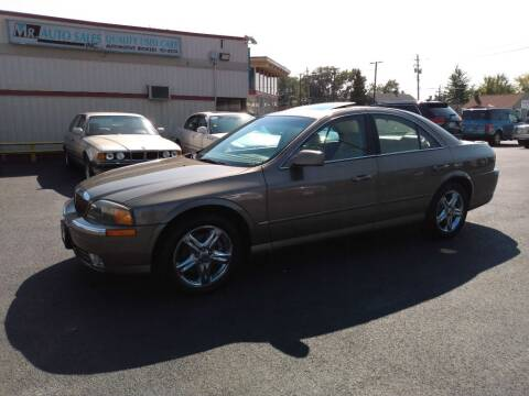 2002 Lincoln LS for sale at MR Auto Sales Inc. in Eastlake OH