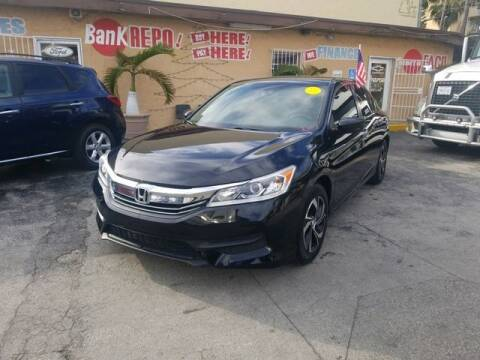 2017 Honda Accord for sale at VALDO AUTO SALES in Miami FL