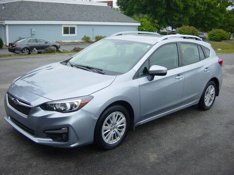 2017 Subaru Impreza for sale at North South Motorcars in Seabrook NH