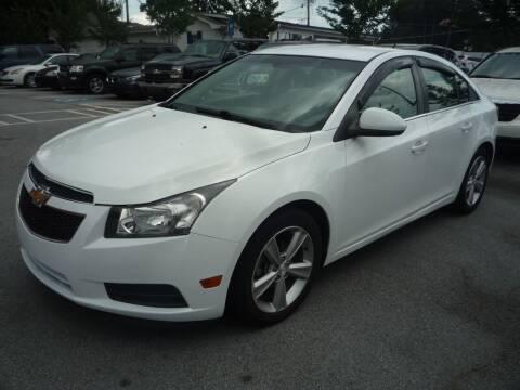 2014 Chevrolet Cruze for sale at Credit Cars LLC in Lawrenceville GA