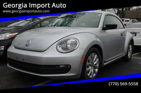 2013 Volkswagen Beetle for sale at Georgia Import Auto in Alpharetta GA