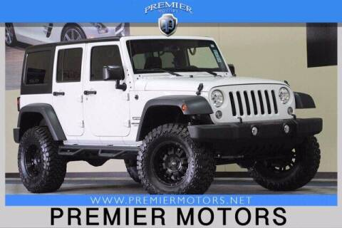 2015 Jeep Wrangler Unlimited for sale at Premier Motors in Hayward CA