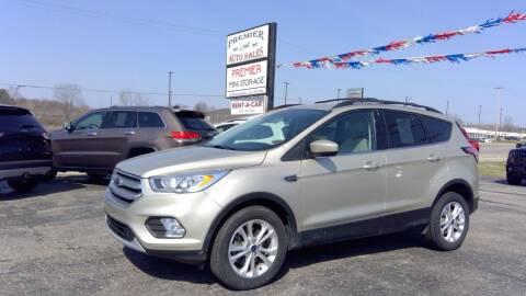 2017 Ford Escape for sale at Premier Auto Sales Inc. in Big Rapids MI