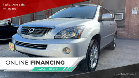 2008 Lexus RX 400h for sale at Rocky's Auto Sales in Worcester MA