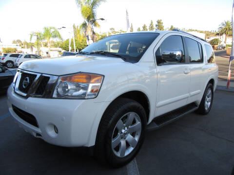 2008 Nissan Armada for sale at Eagle Auto in La Mesa CA