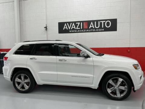2014 Jeep Grand Cherokee for sale at AVAZI AUTO GROUP LLC in Gaithersburg MD