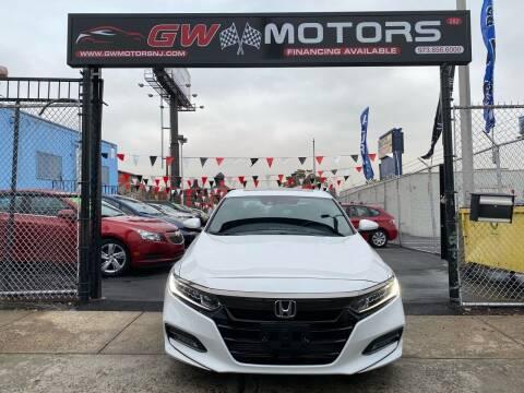 2018 Honda Accord for sale at GW MOTORS in Newark NJ