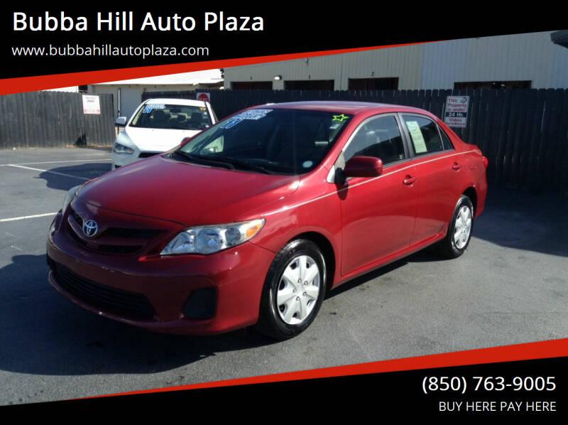 2011 Toyota Corolla for sale at Bubba Hill Auto Plaza in Panama City FL