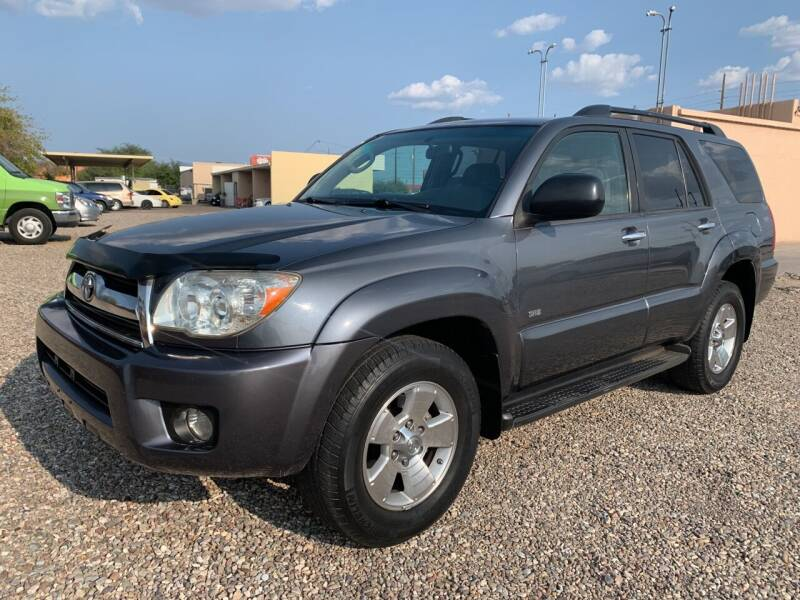 2007 Toyota 4Runner for sale at Tucson Auto Sales in Tucson AZ