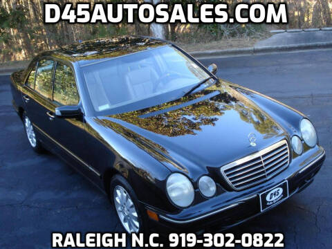 2001 Mercedes-Benz E-Class for sale at D45 Auto Brokers in Raleigh NC