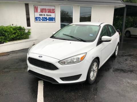 2016 Ford Focus for sale at IV AUTO SALES in Mesquite TX