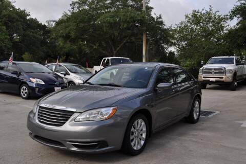 2013 Chrysler 200 for sale at STEPANEK'S AUTO SALES & SERVICE INC. in Vero Beach FL