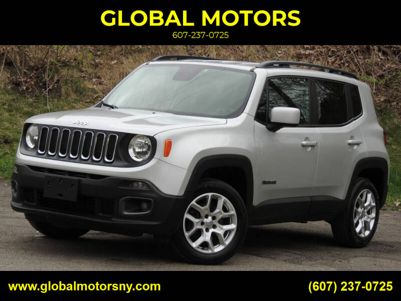 2015 Jeep Renegade for sale at GLOBAL MOTORS in Binghamton NY