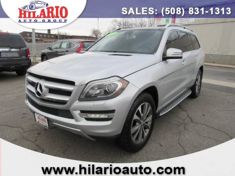 2015 Mercedes-Benz GL-Class for sale at Hilario's Auto Sales in Worcester MA