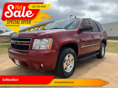 2011 Chevrolet Tahoe for sale at GOWHEELMART in Available In LA
