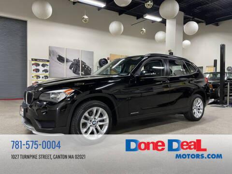 2015 BMW X1 for sale at DONE DEAL MOTORS in Canton MA