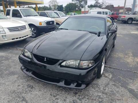 1998 Ford Mustang SVT Cobra for sale at Autos by Tom in Largo FL