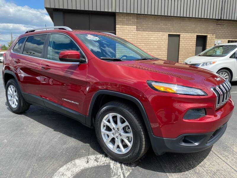 2017 Jeep Cherokee for sale at C Pizzano Auto Sales in Wyoming PA
