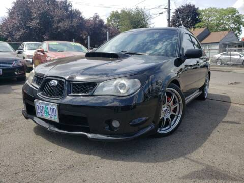 2006 Subaru Impreza for sale at A1 Group Inc in Portland OR