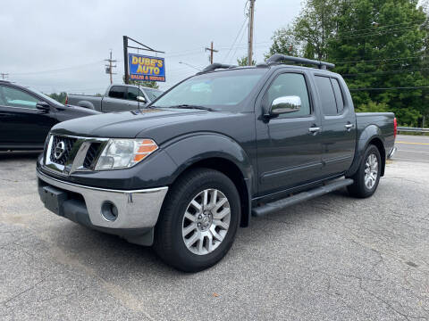 2011 Nissan Frontier for sale at Dubes Auto Sales in Lewiston ME