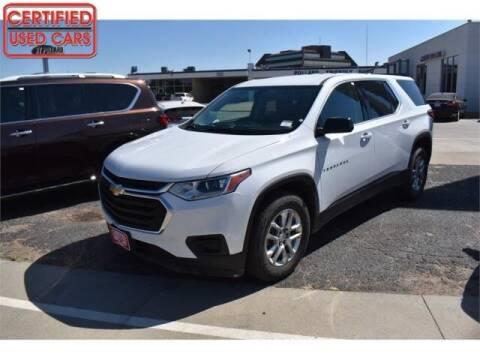 2018 Chevrolet Traverse for sale at South Plains Autoplex by RANDY BUCHANAN in Lubbock TX