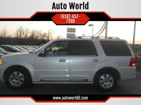 2004 Lincoln Navigator for sale at Auto World in Carbondale IL